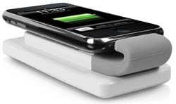 ChargeOn Attachable Battery Pack and Universal Charging Base for iPhone and iPod Product Shot