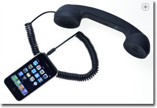 Native Union Moshi Moshi Retro Handset (Soft Touch Black)