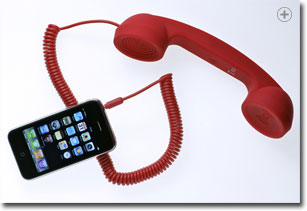 Native Union Moshi Retro Handset in red