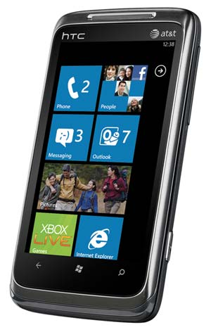 Windows Phone 7 is designed for business and life in motion (see 