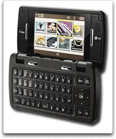 Amazon.com: LG enV Touch VX11000 Phone, Black (Verizon Wireless): Cell