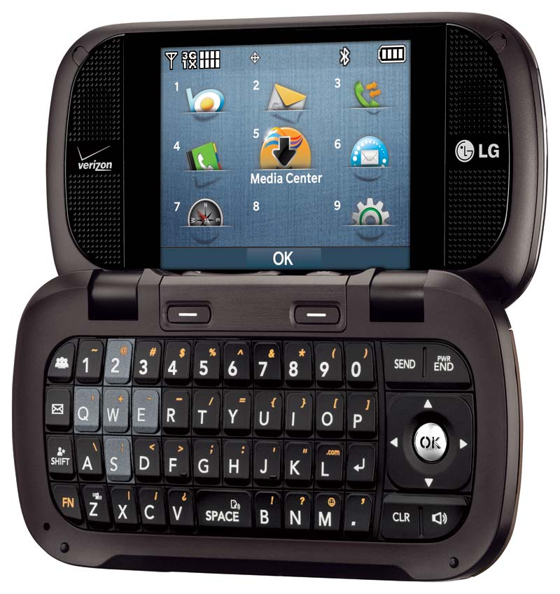 lg octane cell phone verizon vn530 qwerty. Black Bedroom Furniture Sets. Home Design Ideas