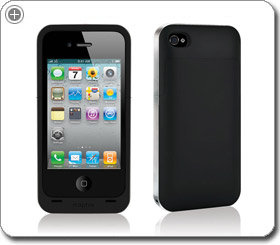 Mophie Juice Pack Air Case and Rechargable Battery for iPhone 4 (Black)