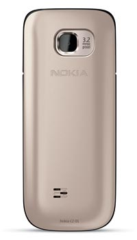 Nokia C2 01.5 Unlocked GSM Phone with 3.2 MP Camera and