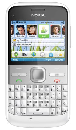 Link to Nokia E5-00 Unlocked GSM Phone with Easy Email Setup, IM, QWERTY, 5 MP Camera, Ovi Store with Apps, and Free Ovi Maps Navigation (White) Discount !!