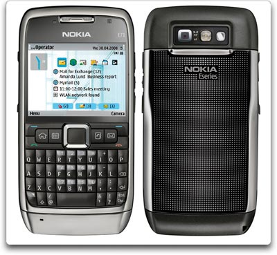 nokia e71 gray front back Nokia E71 Unlocked Cell Phone with 3.2 MP Camera, International 3G, Media Player, GPS, Wi Fi, MicroSD Slot  International Version with Warranty (Gray) Reviews