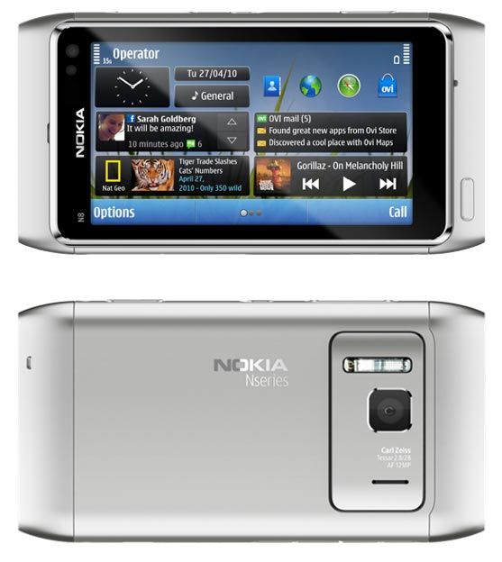 Amazon.com: Nokia N8 Unlocked GSM Touchscreen Phone Featuring GPS with