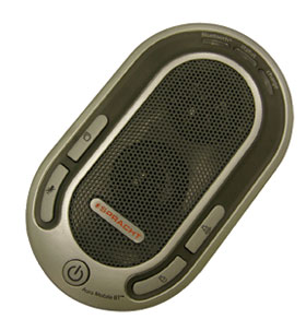 Free mobile music   Spracht AURA Mobile Hands Free Bluetooth Speakerphone