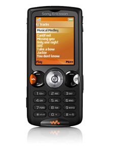 New Sony Ericsson W810i Unlocked Cell Phone with 2 MP Camera ...