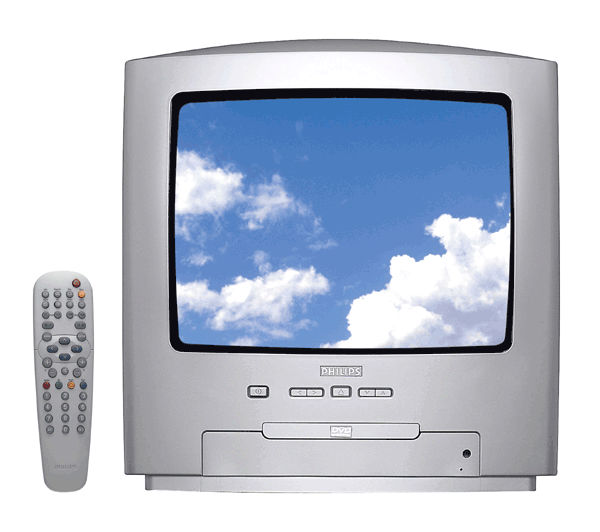 philips 14pt6107 14 combined tv dvd buy combination tvs. Black Bedroom Furniture Sets. Home Design Ideas