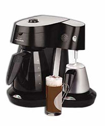 Morphy Richards 47003 Cafa? Rico Espresso Maker with Frother: Amazon.co.uk: Kitchen & Home