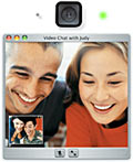 3-Wege-Videokonferenzen mit iChat AV + iSight Kamera