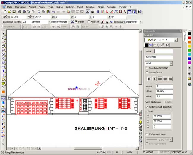 Design cad 3d max 20 imsi software for Haus design software