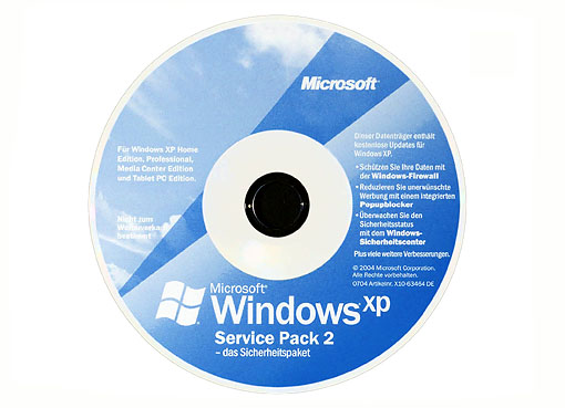 Windows XP Professional SP2 HD sata