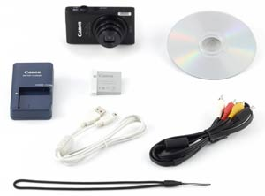 Canon PowerShot ELPH 300 HS 12.1 MP Digital Camera Canon ELPH 300 HS Box Contents