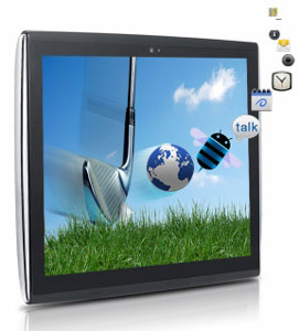 Le Pan II 9 7inch 8GB Multi Touch Screen Android Tablet Bluetooth Wi