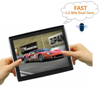 """Le Pan II 9.7"""" 8 GB Tablet with Android 4.0.4 Ice Cream Sandwich"""
