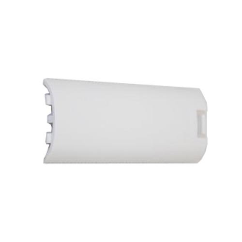 Image 3 of White Replacement Battery Cover For Controller Protective For Wii