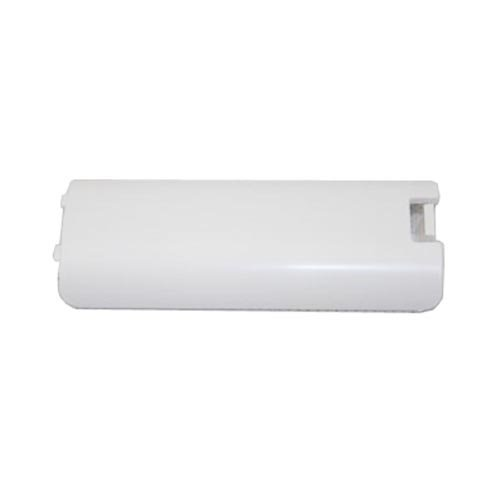 Image 2 of Dual Pack 2X Pieces White Remote Battery Cover Protective For Wii