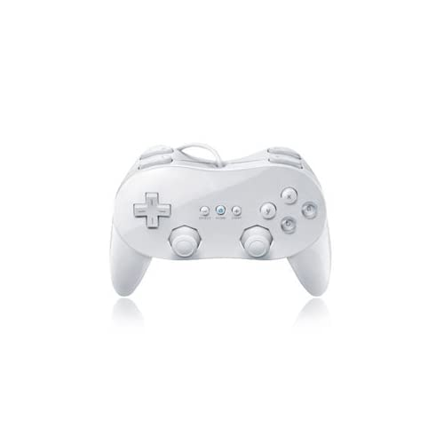 Image 0 of Classic Pro Controller For Wiiu White For Wii