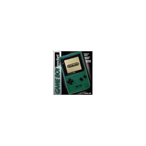 Gameboy Pocket Green Handheld DER665