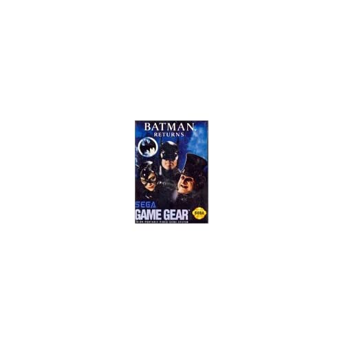 Batman Returns For Sega Game Gear Vintage