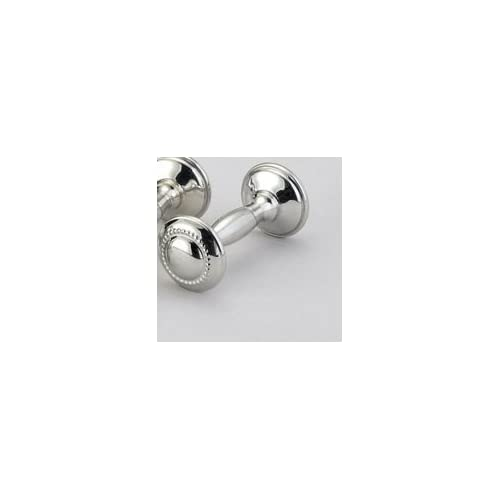 Empire Pewter Beaded Dumbbell Rattle