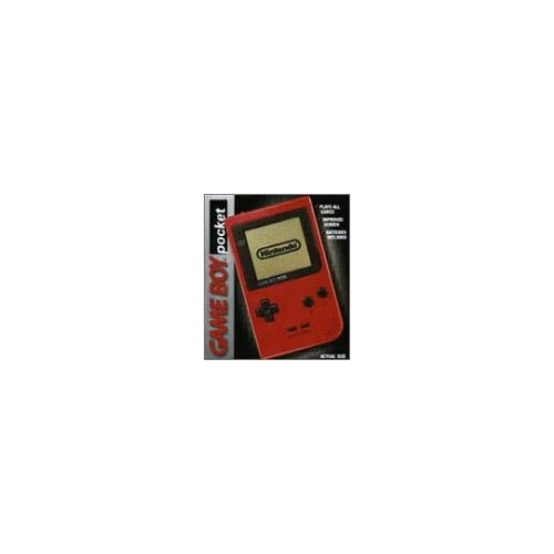 Game Boy Pocket Red Handheld MGB-001