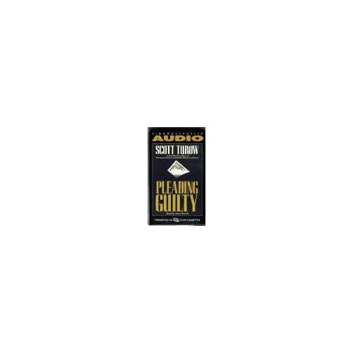 Image 0 of Pleading Guilty By Scott Turow Stacy Keach Reader On Audio Cassette