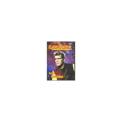 Image 0 of Flash Gordon 1950'S TV Slim Case On DVD With Steve Holland