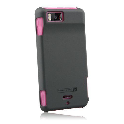 Image 0 of Vertex 3-piece Hard And Soft Cover For Motorola Droid X MB810 Case Multi-Color F