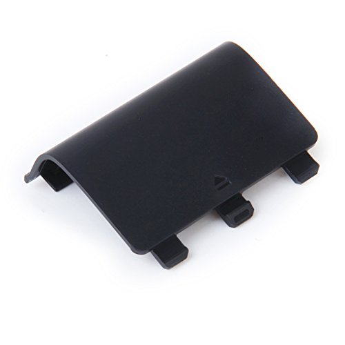 Image 3 of Black Battery Cover Door For Xbox One Wireless Controller