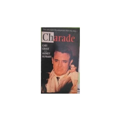 Charade On VHS With Cary Grant