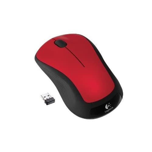 Image 0 of Logitech Wireless Mouse M310 Flame Red Gloss
