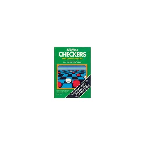 Activision Checkers For The 2600 Vintage Game For Atari