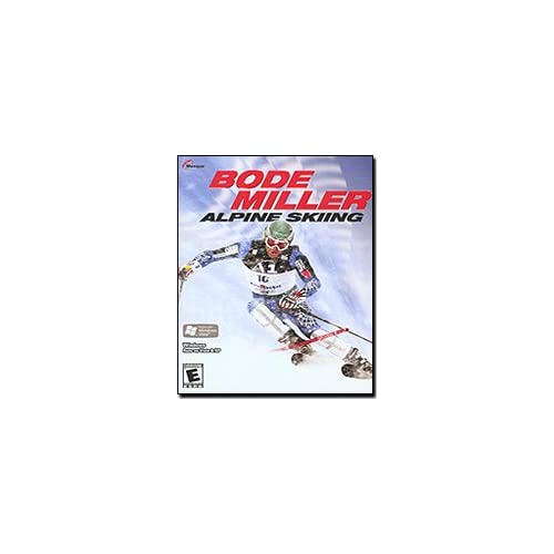 Bode Miller Alpine Skiing For PlayStation 2 PS2 With Manual and Case