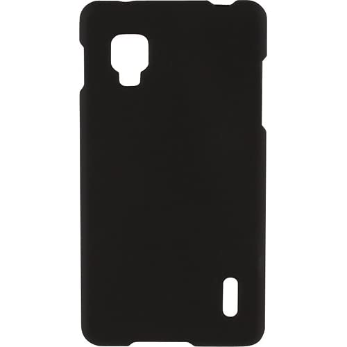 Image 3 of Rocketfish Hard Shell Case For Optimus G Mobile Phones Black Cover