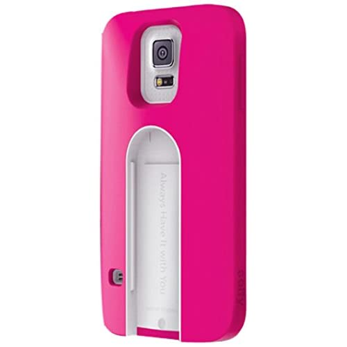 Image 0 of iLuv Selfy Case With Built-In Wireless Camera Shutter For Samsung Galaxy S5 Pink