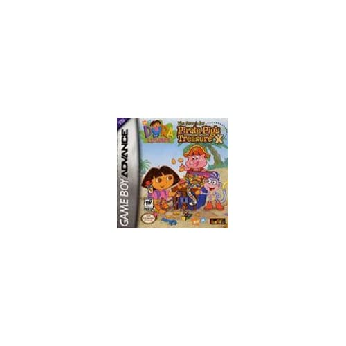 Image 0 of Dora The Explorer The Search For Pirate Pig's Treasure For GBA Gameboy Advance