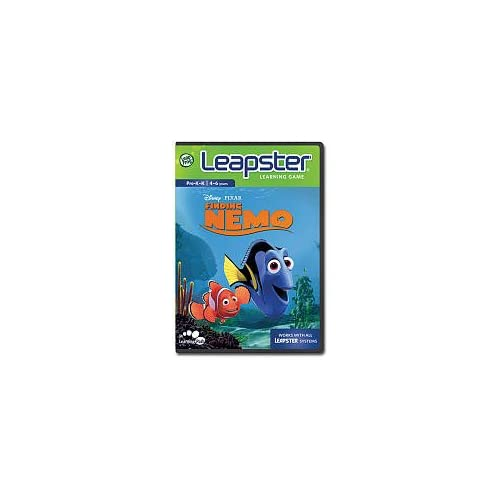 Image 0 of Leapfrog Leapster Learning Game Finding Nemo For Leap Frog