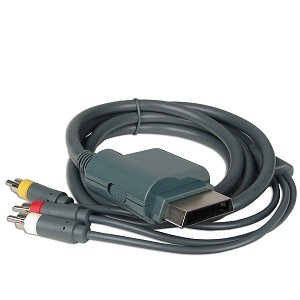 Image 0 of Composite AV Cable For Microsoft A/v For Xbox 360