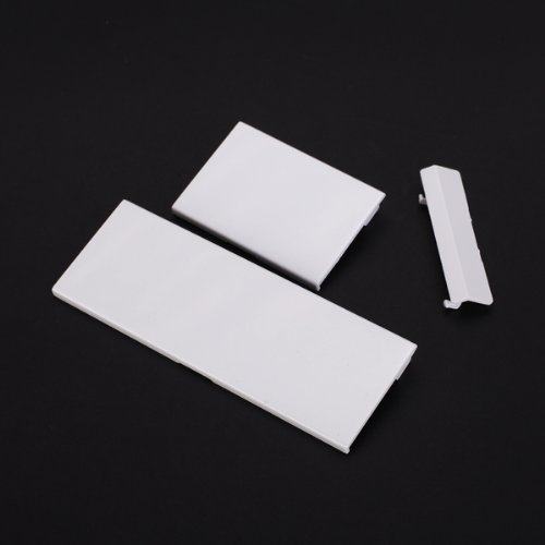 Image 0 of 3PCS Replacement Door Slot Cover Lid For Nintendo Wii Console White