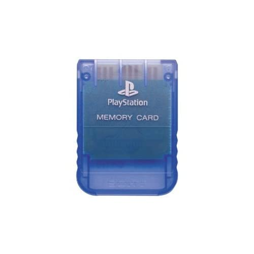 Image 0 of PlayStation Psone OEM Memory Card Island Blue SCPH-1020 For PlayStation 1 PS1