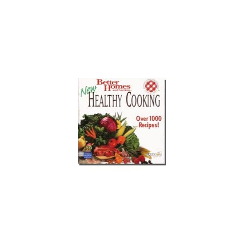 Better Homes And Gardens Healthy Cooking Software PC Vintage