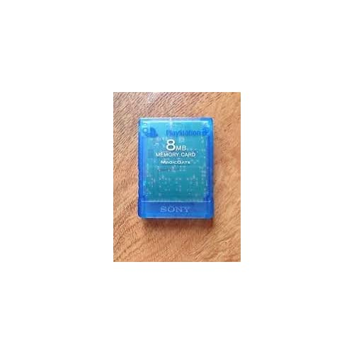 Image 0 of Sony OEM PlayStation 2 Memory Card 8MB Blue