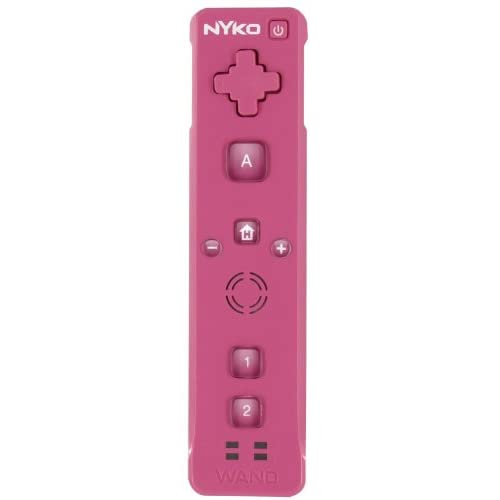 Image 0 of Nyko Wand Plus Full Motion Sensing IR Controller Pink For Wii EE670997