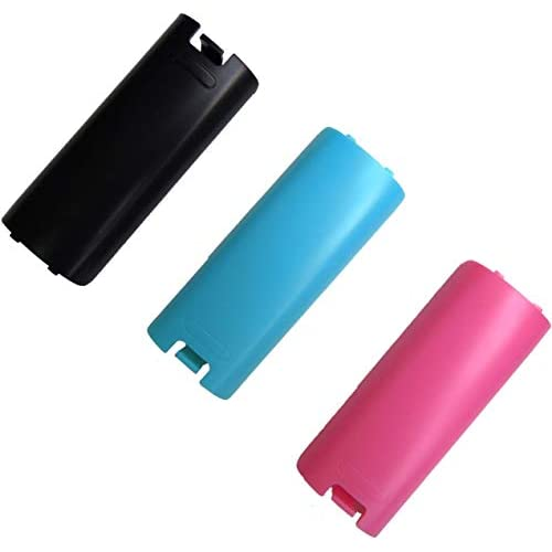 Image 0 of Replacement Battery Cover For Nintendo Wii Remote X 3 By Mars Devices