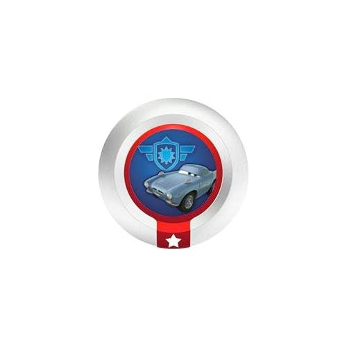 Image 0 of Chrome's Armor Shield Disney Infinity Power Disc Figure Character