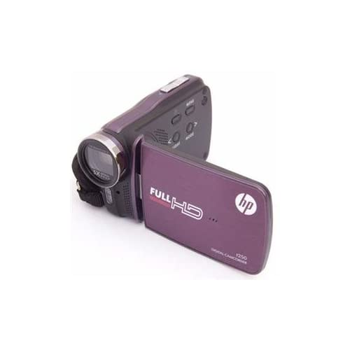 Image 0 of HP Imaging Products Genuine Dig Camcorder 5MP 5X Purple Camera HPT250PURPLE