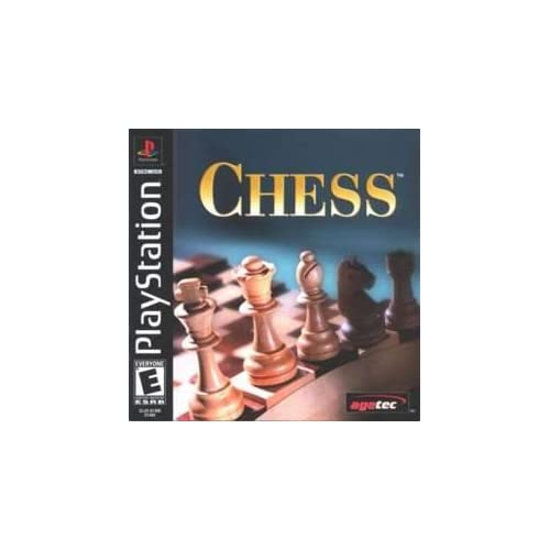 Chess For PlayStation 1 PS1 Puzzle With Manual and Case